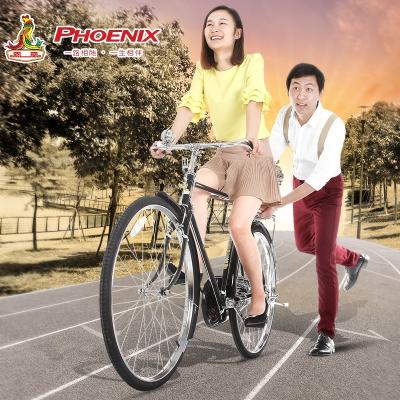 鳳凰 通勤自行車 推薦懷舊老款經典老式28大杠成人復古男女自行車單車鎂合金其他