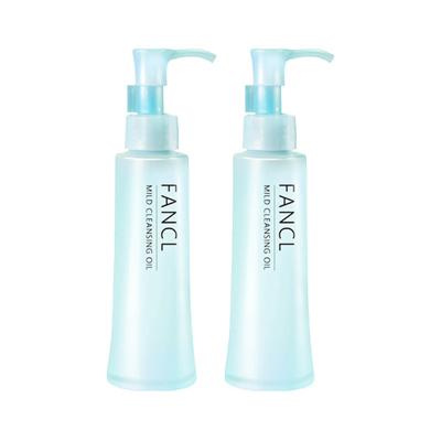 【直營】【保稅】2支 | Fancl/芳珂卸妝油 120ml 深層清潔無添加納米溫和凈化卸妝水液
