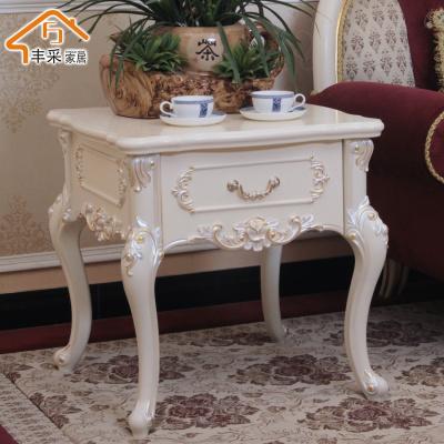 歐若凡歐式創意角幾邊幾現代簡約客廳電話幾沙發小茶幾木質圓形花方幾