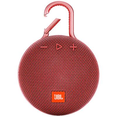 JBL clip3音樂盒三代便攜 藍牙音箱 藍牙4.1 紅色