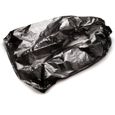 得力(deli) 加厚垃圾袋 廚房衛生間家用塑料袋 45*55cm/30只一卷裝 9573