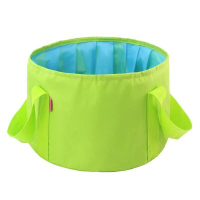 三極戶外(Tripolar) TP1206 折疊水盆戶外多功能旅游出差洗腳盆洗臉野營旅行洗菜水桶15L