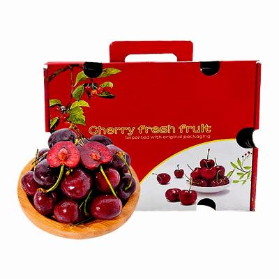 【顺丰空运】智利进口JJJ级车厘子4斤礼盒装 果径约30-32mm 新鲜水果应季
