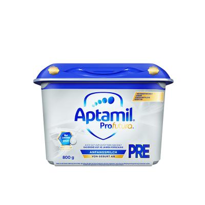 【國內保稅】aptamil德國愛他美白金版HMO嬰幼兒配方奶粉pre段800g/罐 安心罐 0~6月