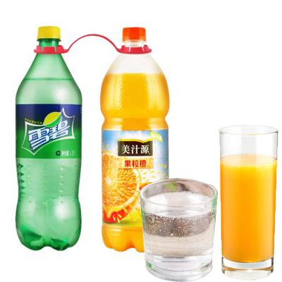 可口可乐 雪碧+果粒橙 美汁源果粒橙大瓶装春节年货家庭装餐饮碳酸饮料饮品