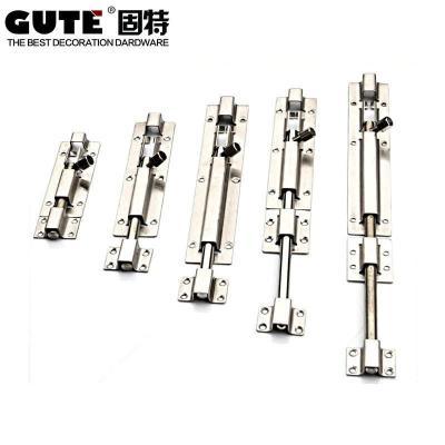 固特GUTE 明裝不銹鋼明插銷 (4寸-12寸)多尺寸 6寸
