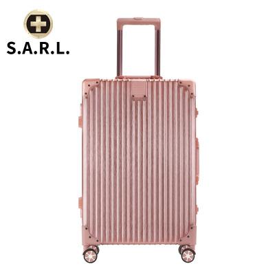 S.A.R.L брэндийн чемодан 78005 тод ягаан 28 инч