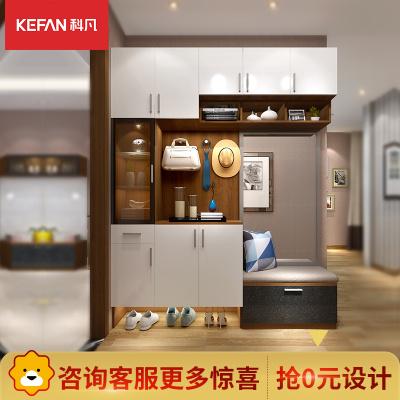 科凡全屋定制整体入户柜隔断柜卧室现代简约定制柜定做家具预付金