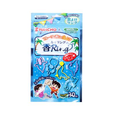金鳥(KINCHO) 金鳥 驅蟲驅蚊 防蚊手環 藍色水果香味 每袋 30個入