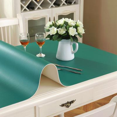 迈布庭 加厚纯色桌布防水防烫防油免洗桌布办公桌垫书桌垫写字台垫学生桌垫餐桌垫操作工作台垫可定制