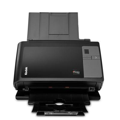 柯达(Kodak)i2400 扫描仪 A4幅面高速高清 自动双面扫描 馈纸式扫描仪( 身份证彩色扫描设备)黑色