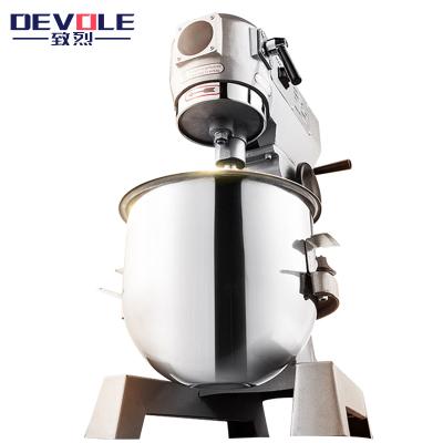 致烈(Devole)和面机商用 10升商用不锈钢搅拌机 大型全自动多功能厨师机揉面机打蛋器 鲜奶机打面机