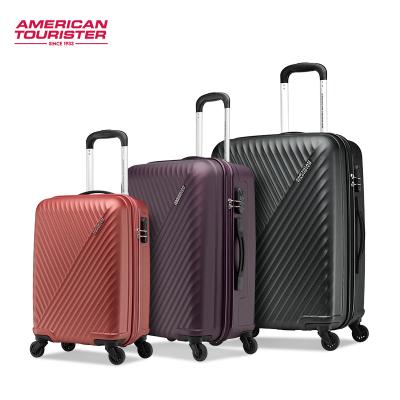 美旅拉桿箱萬向輪女28英寸旅行箱男24英寸行李箱萬向輪拉桿箱20英寸登機箱AX9