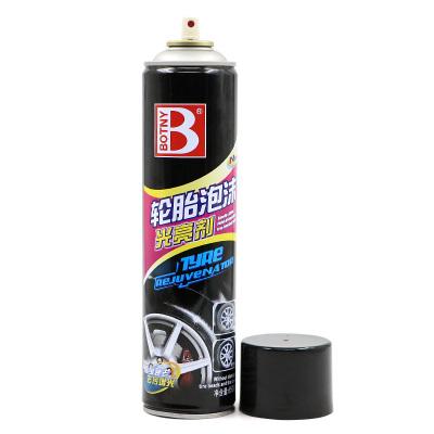 保赐利(botny) 轮胎泡沫光亮剂 轮胎釉轮胎蜡 B-1107 650ML
