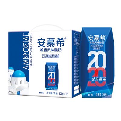 伊利安慕希常溫酸牛奶禮盒裝205g*12 整箱