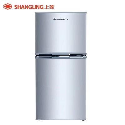上菱(shangling) BCD-137C 137升雙門冰箱 靜音節能兩門小冰箱 租房家用 適用2口之家電冰箱