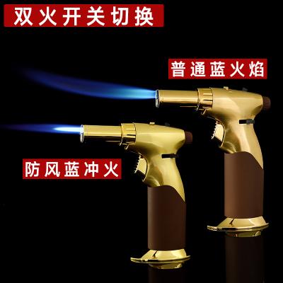 防风雪茄打火机喷大直冲专用焊点火器艾灸耐高温户外烧烤烘焙