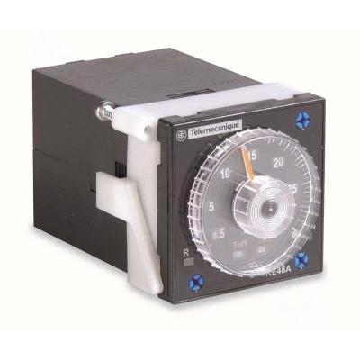 施耐德 Schneider Electric 面板安裝式繼電器輸出時間繼電器-RE48,RE48ACV12MW