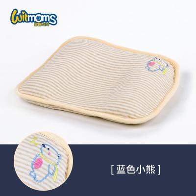 睿智媽媽(witmoms)嬰兒枕頭新生兒蕎麥定型透氣防矯正偏頭尖頭塑型枕