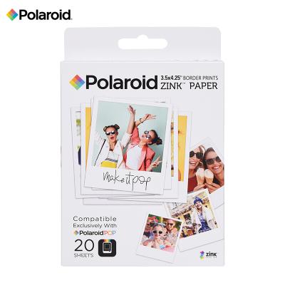 寶麗來(Polaroid)Zink3X4英寸 20張相紙 寶麗來POP系列拍立得相紙 即影即現無墨相紙 20張