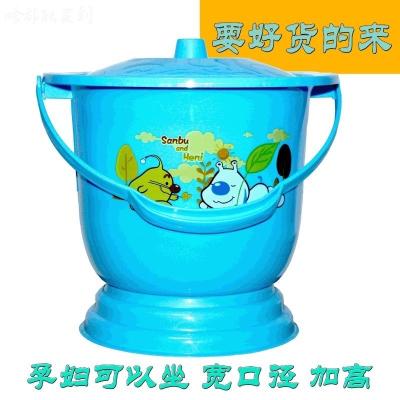 馬桶尿桶男女罐男女尿盆帶蓋痰盂小夜壺老人成人帶蓋小家用塑料