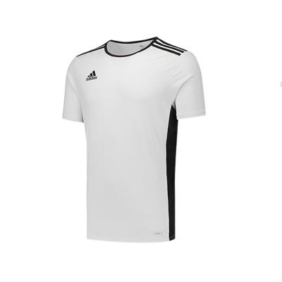 阿迪達斯 足球 男士 四季 跑步 速干透氣球衣 短袖 CD8438