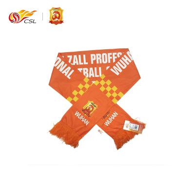 中超CSL聯賽官方正品 武漢卓爾印花圍巾---上PP體育看中超購正版 邊看邊買暢享一夏
