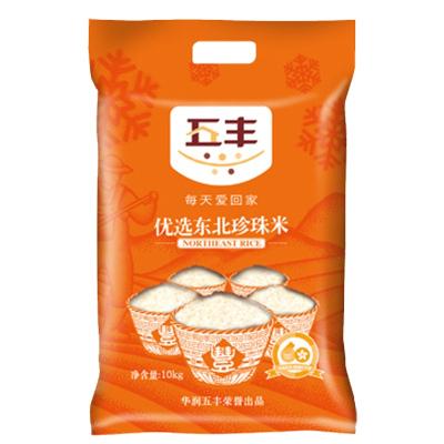 五丰优选东北珍珠米-东北米/ 粳米/ 10kg/袋 东北大米