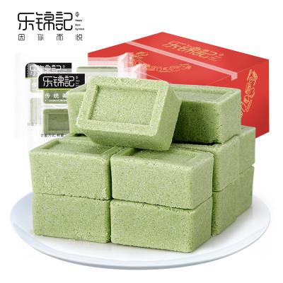 樂錦記 糕點點心 800g綠豆糕 綠豆原味味 袋裝 傳統糕點心糕類休閑零食小吃