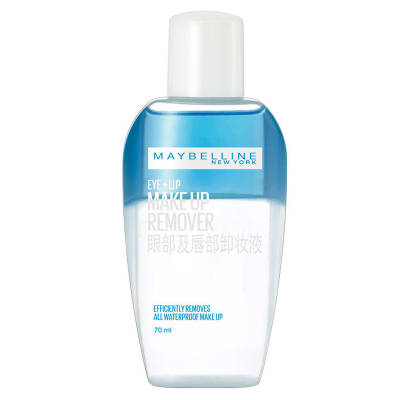 美寶蓮(Maybelline)眼唇卸妝液70ml/臉部唇部清潔卸妝水女