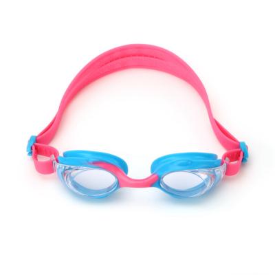 巴拉巴拉兒童眼鏡泳鏡女童護目中大童泳具硅膠高清防起霧游泳鏡潮