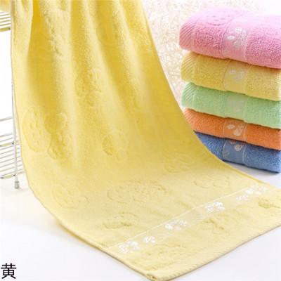 沐梦纯棉毛巾一条装33X73cm