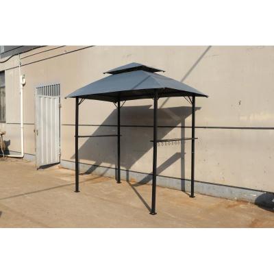 邁菲詩戶外家用燒烤棚簡易燒烤棚小遮陽棚帳篷防雨防曬休閑小帳篷庭院