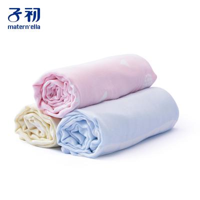 子初嬰兒毛毯小被子寶寶蓋毯防風毯兒童云毯雙層四季通用