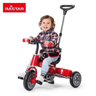 星辉(Rastar)宝马mini折叠儿童三轮车1-3岁手推宝宝脚踏车童车RSZ3003