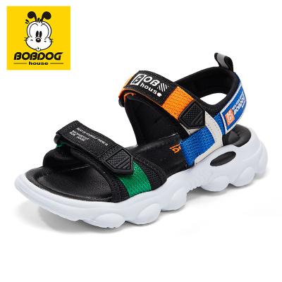 巴布豆BOBDOG HOUSE童鞋防滑沙灘鞋子2020新款夏季男女童時尚休閑夏天兒童涼鞋8672