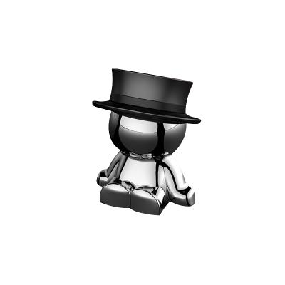 瘋狂帽子車載手機支架汽車內磁性車用磁吸手機架導航架吸盤支撐架