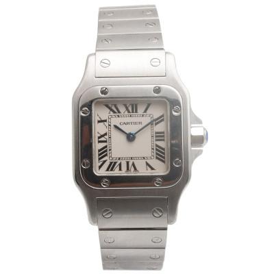 【二手95新】卡地亞Cartier山度士系列W20056D6女表石英奢侈品鐘手表腕表