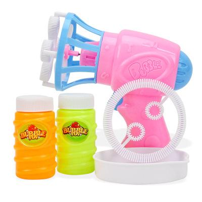 【买2件送10包泡泡液】儿童电动泡泡机全自动吹泡泡环保无毒泡泡水补充液泡泡枪装电池款自动泡泡机颜色随机