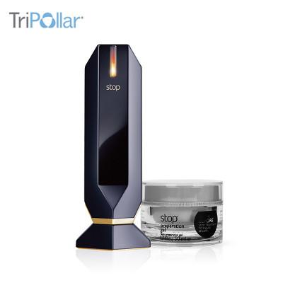 Tripollar STOP童顏機以色列進口熱瑪吉射頻電子美容儀 家用臉部美容器儀器去皺提拉緊致支持插電源式黑色經典款