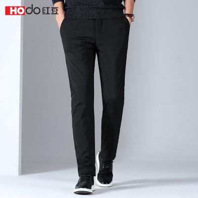 HODO红豆男装 男士羽绒裤 2019冬季商务休闲暖而有型简约舒适休闲裤羽绒裤男