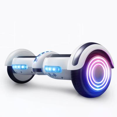 阿尔郎(AERLANG)智能平衡车儿童双轮电动体感思维扭扭车 N5-E 白色