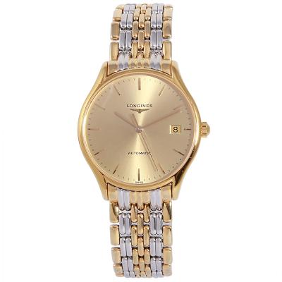【二手95新】浪琴LONGINES优雅系列L4.860.2.32.7男表自动机械奢侈品钟手表腕表