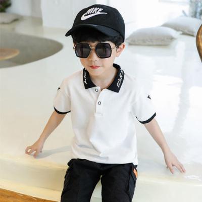 男童裝夏季短袖T恤2020新款兒童POLO衫上衣中大童翻領舒適韓版潮威珺