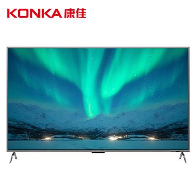 康佳(KONKA)LED86G9100 86英寸 4K超高清HDR 智能語音 網絡LED液晶電視 商用電視 (錆色)