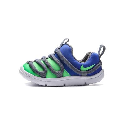 NIKE童鞋男女嬰童休閑鞋舒適拼色一腳蹬跑步運動鞋AQ9662