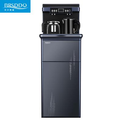 貝爾斯盾(BRSDDQ)飲水機BRSD-38藏青色溫熱型 立式全自動上水智能家用更美的桶裝水 茶吧機下置水桶臺式 雙門