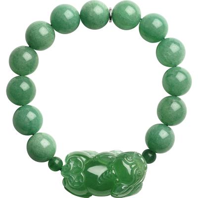 石頭記天然東陵玉貔貅手鏈手串男女佛珠手鏈首飾情侶手鏈生日