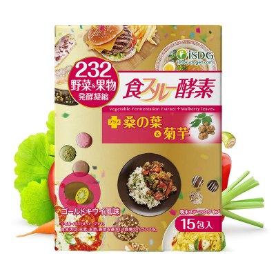 ISDG 日本进口黄金酵素粉末 232种果蔬猕猴桃味 15支/盒