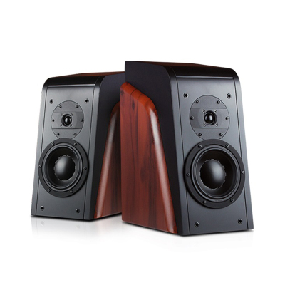 HiVi 惠威 杜希 D3.1书架音箱2.0声道专业音箱HIFI音响喇叭